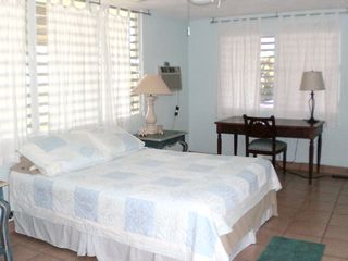 Vieques Island house photo - Master Suite with Writing Desk and attached Fulll Bath
