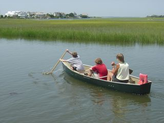 Bald Head Island house photo - Canoe fun!
