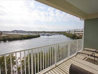 Tampa townhome photo - View of Bahia Beach harbor and Tampa Bay