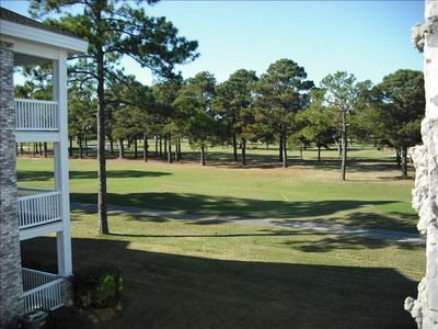 View of golf course.
