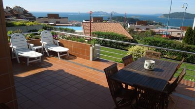 Apartment with wonderfull views over Atlantic Islands Natural Park 1, Baiona Bay