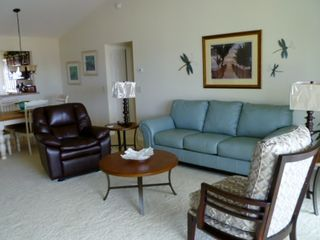 The Villages house photo - Living Room - Leather Couch and Leather Recliner