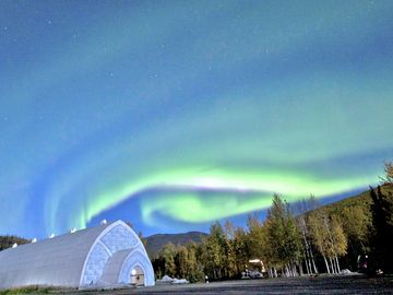 Aurora Aurora Ice Museum-Big Dipper upper left corner by Travis Knauss