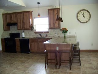 New Braunfels condo photo - kitchen/eating area