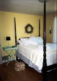 One of Firefly's four tastefully decorated bedroom
