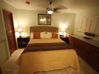 Poipu condo photo - King bed with plenty of storage