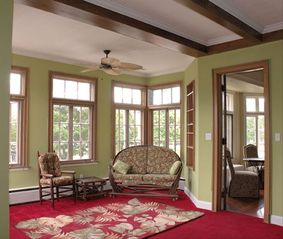 Sheboygan house photo - Spacious Sun Room