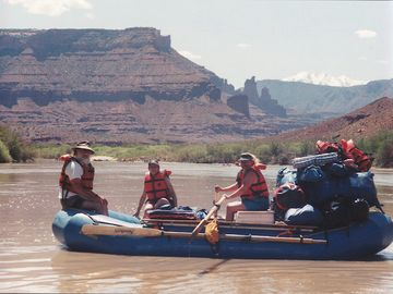 Dave & Beth on Colorado River Trip near Moab UT. Just 4 hours away!!