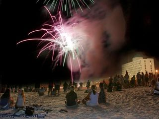 Carolina Beach condo photo - Free fireworks and Music at the Boardwalk on Thursday Nights in the Summer