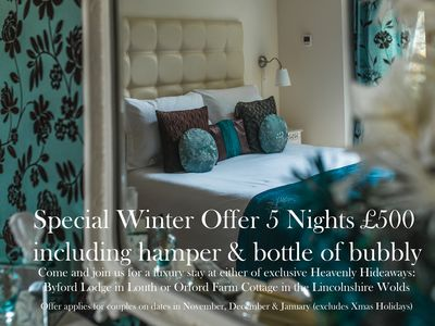 Heavenly Hideaways: Exclusive & Luxury Louth Town Centre Home. Special Offers