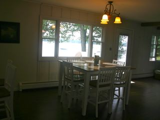 Hillman house photo - Dining room with breath-taking views of the lake!