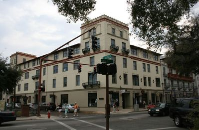 St. Augustine condo rental - The Lyons Building