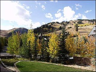 Aspen townhome photo - View of slopes from front yard