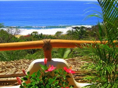 Sayulita house rental - full surf/beach view - lots of whales Nov thru March