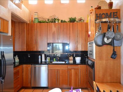Kitchen, All Granite, Stainless Steel Appliances
