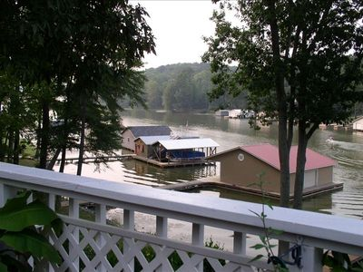 Lake Guntersville Vaction Rental  View from top deck