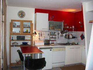 Juan-les-Pins apartment photo - Kitchen