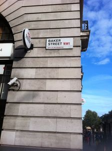 It's a short walk down Baker Street to the main shopping and tourist sights.