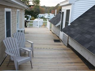 York Beach apartment photo - Wonderful Deck has a Great Spacious Layout