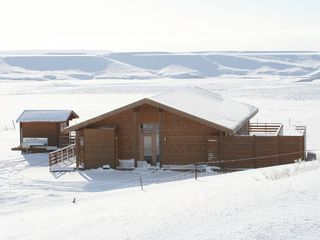 South Iceland cottage photo - Winter time