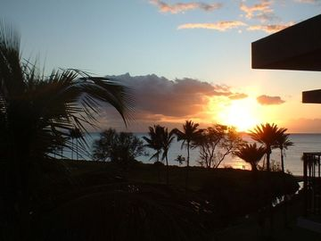 Enjoy the sunset from your own lanai
