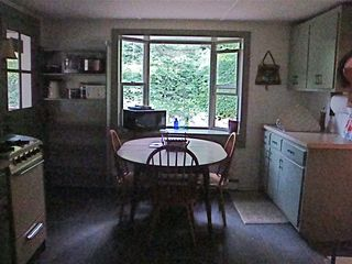 Bath cabin photo - Cabin 1, full kitchen overlooking the Wild Ammonoosuc River