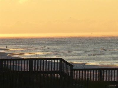 Miramar Beach condo rental - A morning at the beach