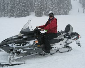Pagosa Springs house photo - Snow Mobiling