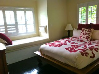 Sunset Beach house photo - Second room with queen size bed and single daybed mountain view