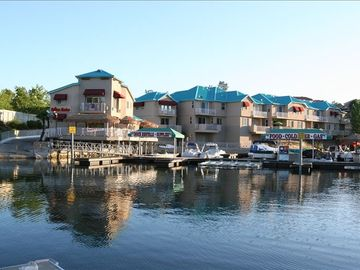 Copperopolis house rental - Drifters Marina & Grill Boat ramp, docks, gas pumps