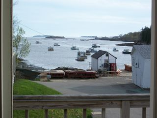 Harpswell house photo - View from deck and master bedroom
