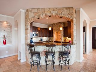 Lago Vista house photo - Stunning bar area overlooking kitchen