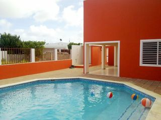 Bonaire condo photo - View outdoor shower and extra restroom