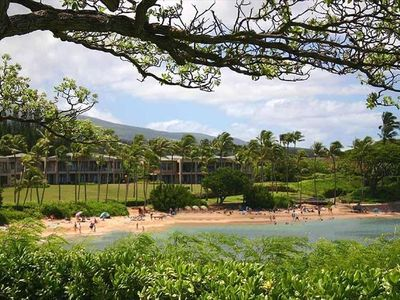 Kapalua Bay Beach and the Coconute Grove Condos