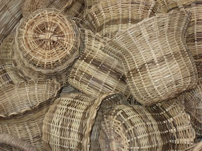 Cap Estate villa rental - BASKETS IN CASTRIES MARKET