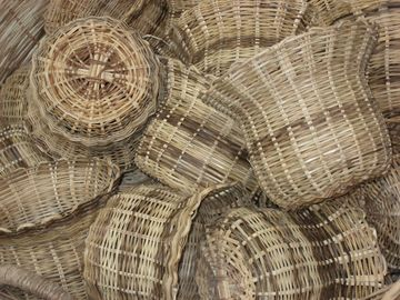 BASKETS IN CASTRIES MARKET