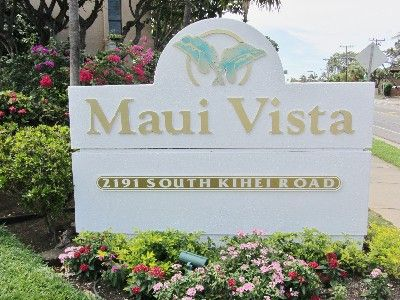 Entrance to Maui Vista