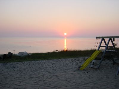 Harrisville house rental - Sunrise