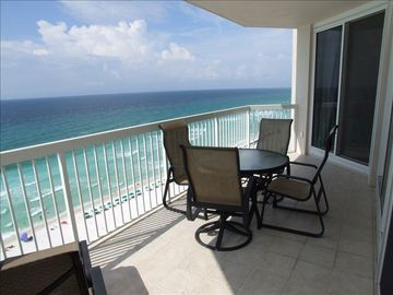 Silver Beach Towers Resort condo rental - Fabulous View from the Private Balcony