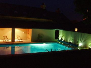 Pool area & Sauna