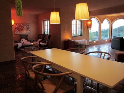 Cabo da Roca villa rental - View from the dining room area