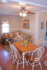 Avon-by-the-Sea house photo - Kitchen eating area and seating alcove