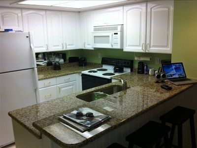 New granite counter tops and stainless steel dishwaster. New paint through out.