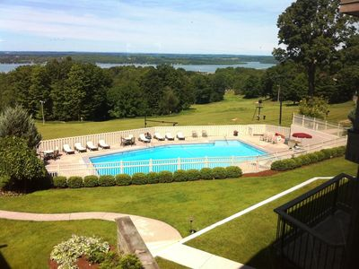 Bellaire / Shanty Creek house rental - Outdoor pool at Summit