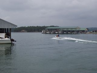 Huddleston house photo - Jetski in our cove!