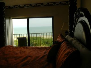 Cape Canaveral condo photo - Master bedroom view from private balcony