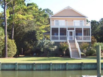 Edisto Island house rental - Creek View