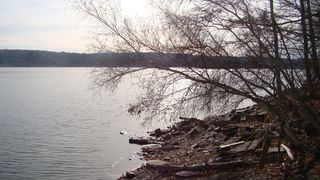 Lake Wallenpaupack house photo - Late Autumn by the Water