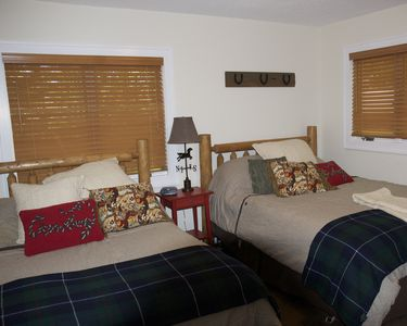 3rd Bedroom with both Queen and Full Size Beds and Sony 32 inch HDTV