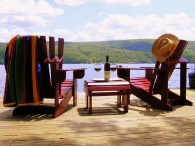 'Keuka Dreams' DREAMS' VIEW FROM DOCK